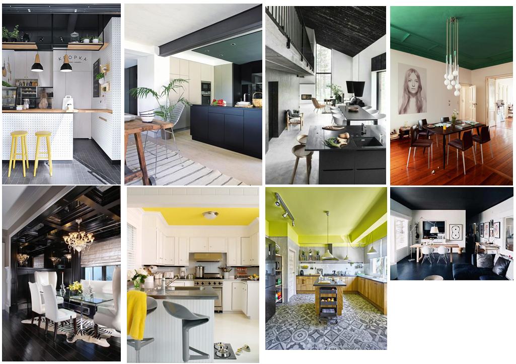 Decoración: Pinta los techos de colores - Blog de El Mundo del Pintor