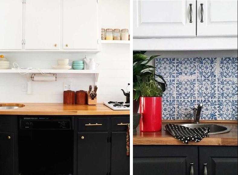 Cocinas con azulejos pintados latest estancias baos azulejos cenefas aseo y cocina with cocinas - Cocinas con azulejos pintados ...