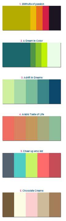 Vas a pintar paredes elige tu paleta de colores blog de el mundo del pintor - Paletas de colores para pintar paredes ...