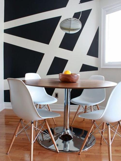 Ideas originales para pintar las paredes blog de el - Pintar paredes blancas ...