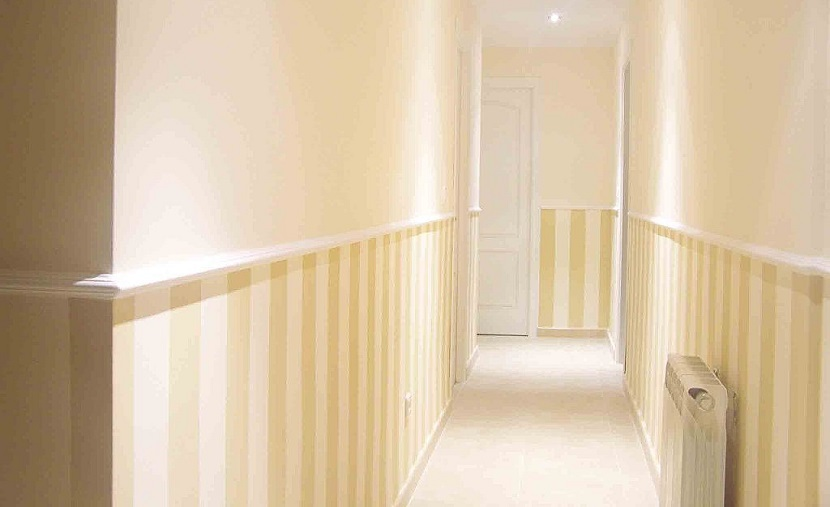 Colores para el pasillo de casa blog de el mundo del pintor for Decorar escaleras con fotos