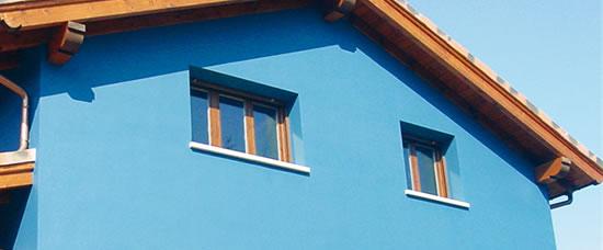 Pintura para exteriores el mundo del pintor online for Pintura para pared exterior