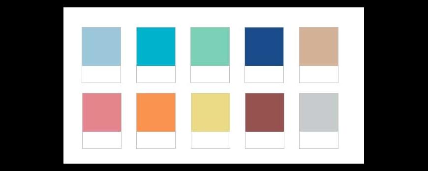 Paleta de colores 3 azules de moda para pintar esta - Paleta de colores para pintar ...
