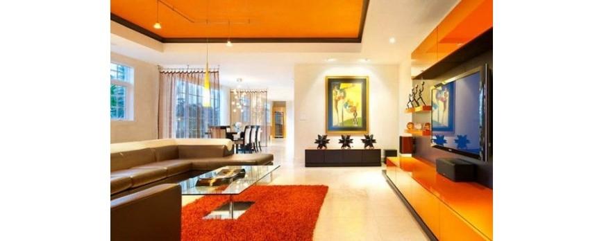 Pintura para casa interior cheap colores fros refresca tu - Colores para mi casa ...