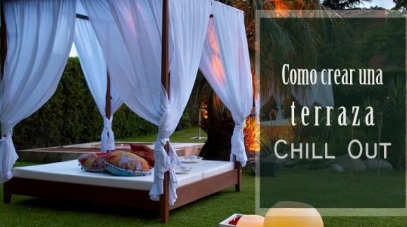 Decoración primavera: Cómo crear una terraza Chill Out