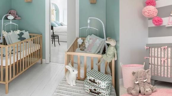Cómo decorar las paredes de la habitación de un bebé