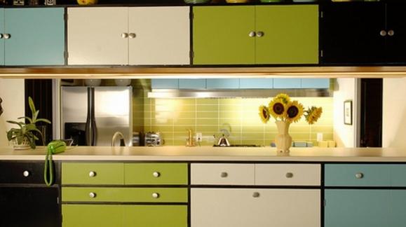 Pintar los muebles de la cocina