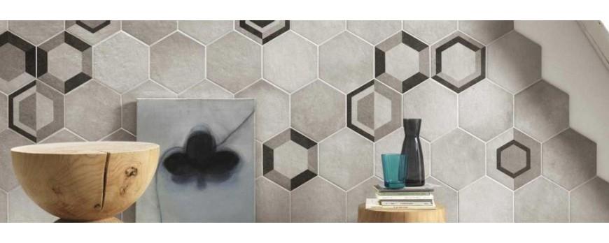 Azulejos hexagonales los m s originales para tu hogar - Azulejos hexagonales ...