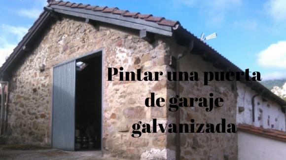 Los consejos de los expertos blog de el mundo del pintor - Pintar puerta galvanizada ...
