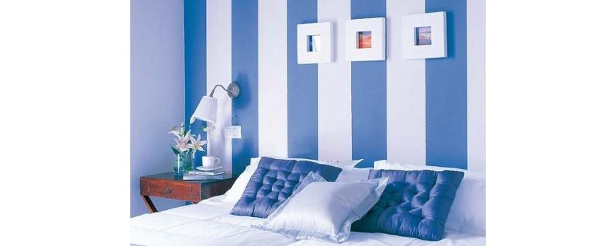 C mo pintar una habitaci n a rayas blog de el mundo del - Como enfriar una habitacion ...