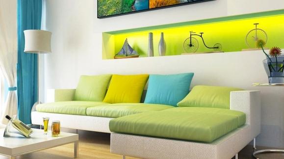Cómo combinar los colores en la decoración de interiores