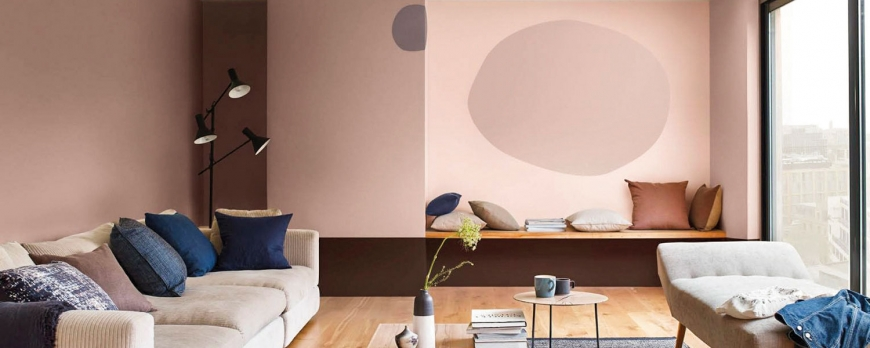 Aprende a decorar con el color rosa