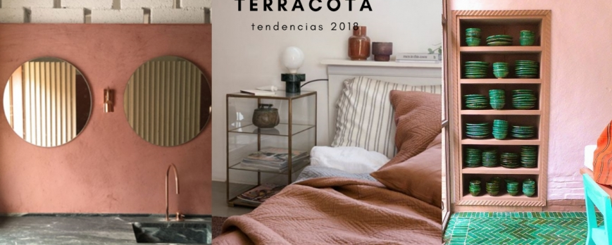 Tendencia: El terracota es el color que arrasa en 2018