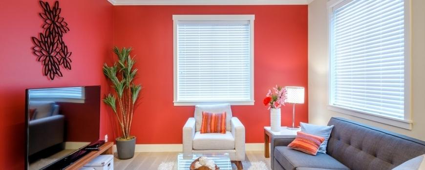 Color rojo, tendencia para pintar tu casa esta primavera