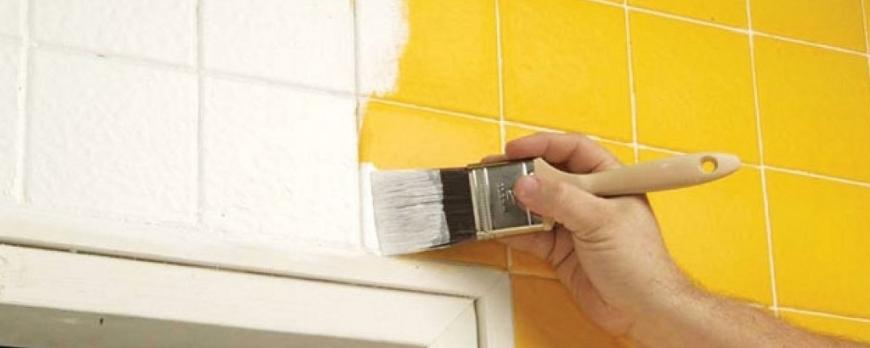 Trucos para pintar azulejos