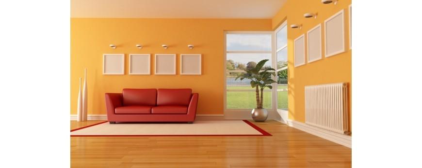 Pintura para interiores consejos para pintar las paredes for Pintura lavable para interiores